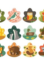 Petit Collage Memory Game - Forest 3+