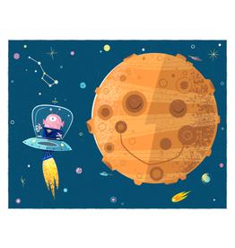 coucou illustration Illustration - LA VIE SUR MARS !