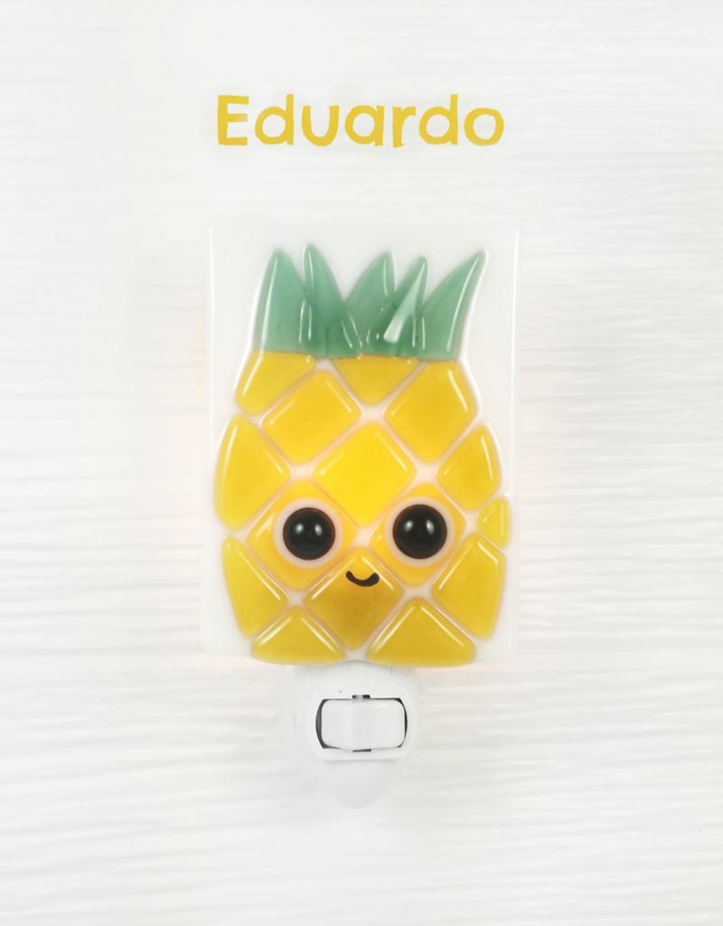 Veille sur toi Doudou Ananas Eduardo