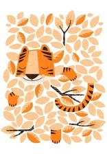 coucou illustration Illustration -  DORS BIEN PETIT TIGRE