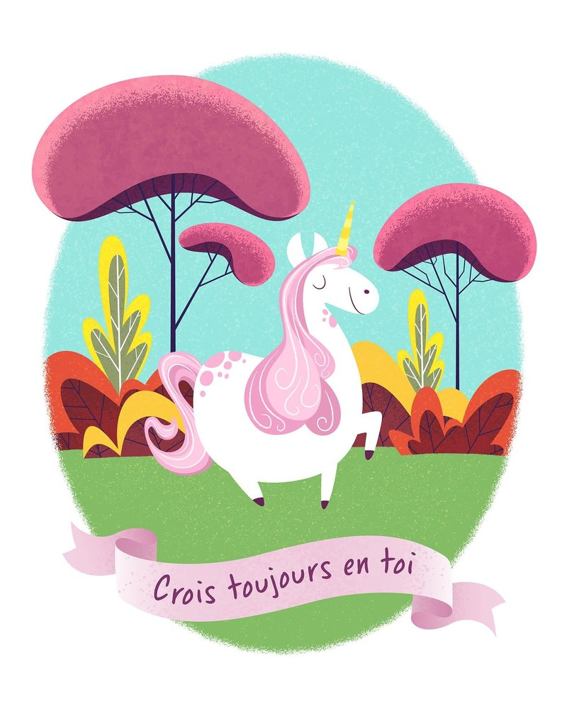 coucou illustration Illustration - BELIEVE IN YOURSELF