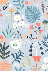 Olé Hop Minky Blanket -  Flower garden