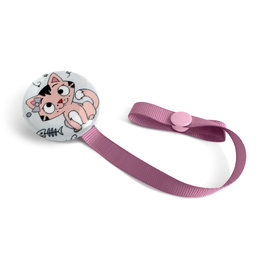 Loliko Pacifier Clip - - Loliko - Charlotte the cat