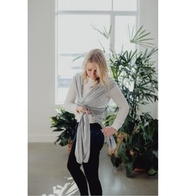 Zak & Zoé Bamboo Wrap - Light Grey