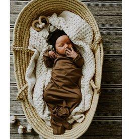 Zak & Zoé Bamboo Sleeper 0-6 month - Americano
