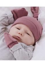 Zak & Zoé Bamboo newborn baby hat 0-3 months - Old pink