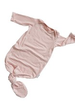 Zak & Zoé Bamboo Sleeper 0-6 month - Pink stripes