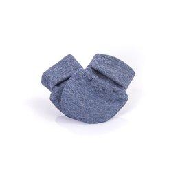 Zak & Zoé Bamboo newborn baby mittens 0-3 months - Blue Jeans