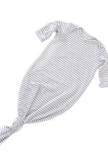 Zak & Zoé Bamboo Sleeper 0-6 month - Grey stripes