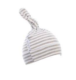 Zak & Zoé Bamboo newborn baby hat 0-3 months - Grey stripes