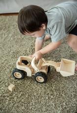 Plan Toys Camion bulldozer en bois