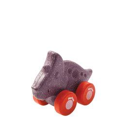 Plan Toys Dinosaure roulant - Tricératop