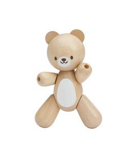 Plan Toys Ourson en bois pour bébé