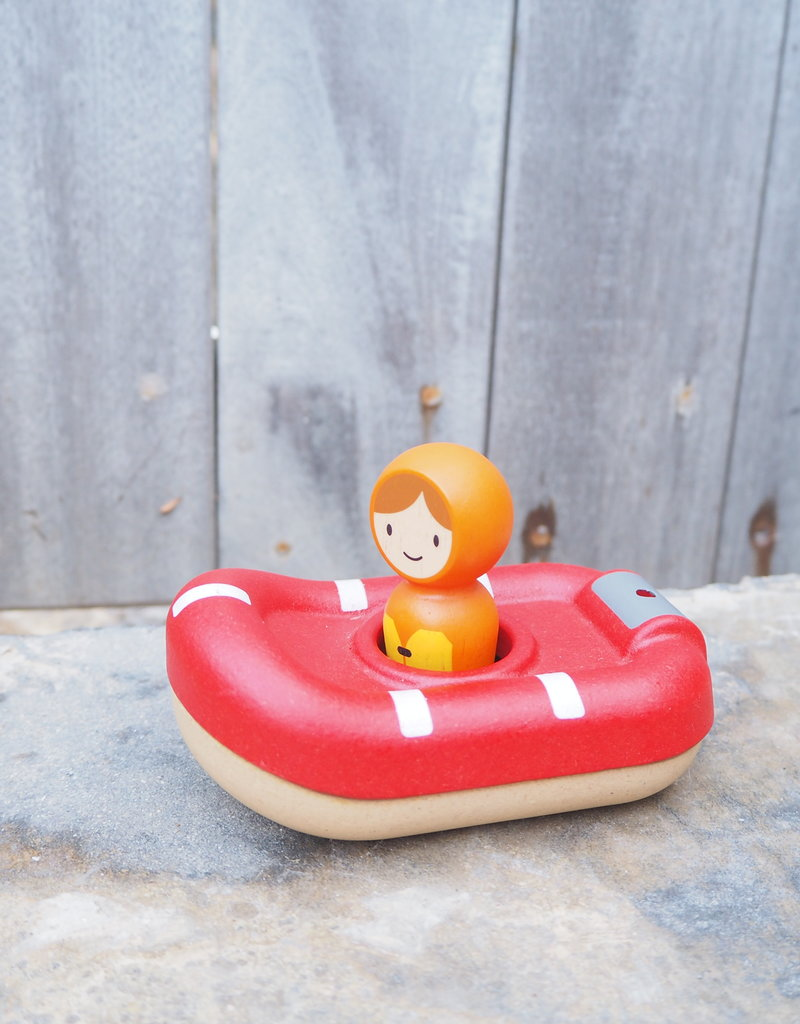 Plan Toys Jouet d'eau - Garde-côtier