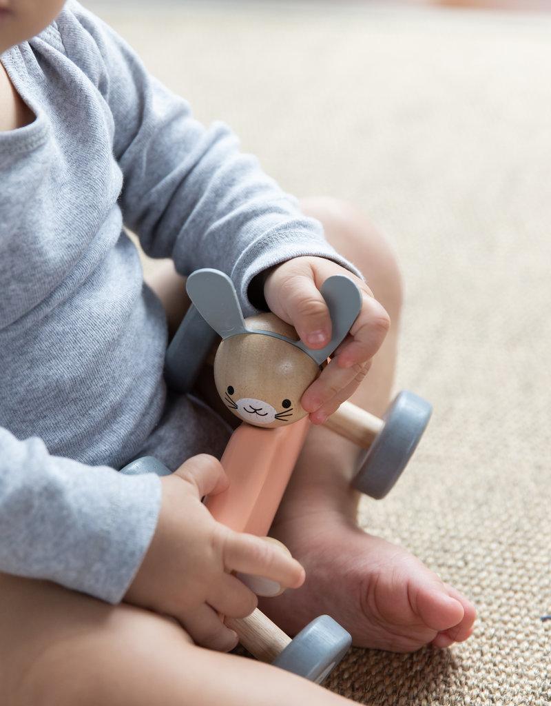 Plan Toys Voiture de course - Lapin