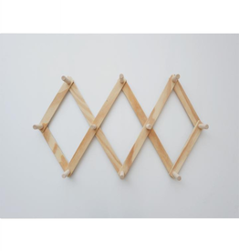 Minika Wooden peg rack - Large