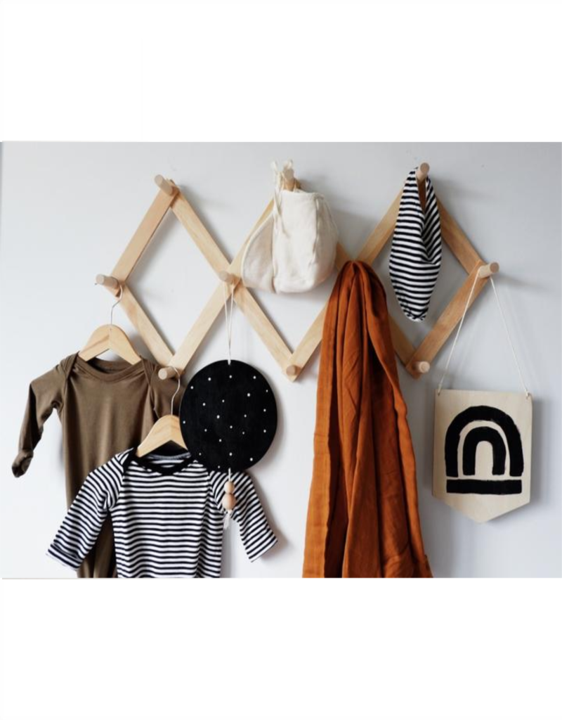 Minika Wooden peg rack - Large