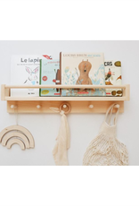 Minika Book shelf with 5 hooks