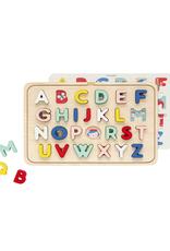Petit Collage Casse-tête en bois - Alphabet multilingue