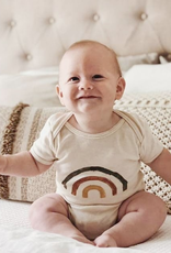 ma petite portée Onesie  12-18- months - Rainbow -green, brick, yellow