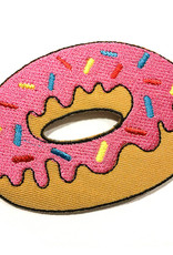 Tattoo It  iron-on Patch -  Donut