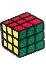Tattoo It iron-on Patch - rubik's cube
