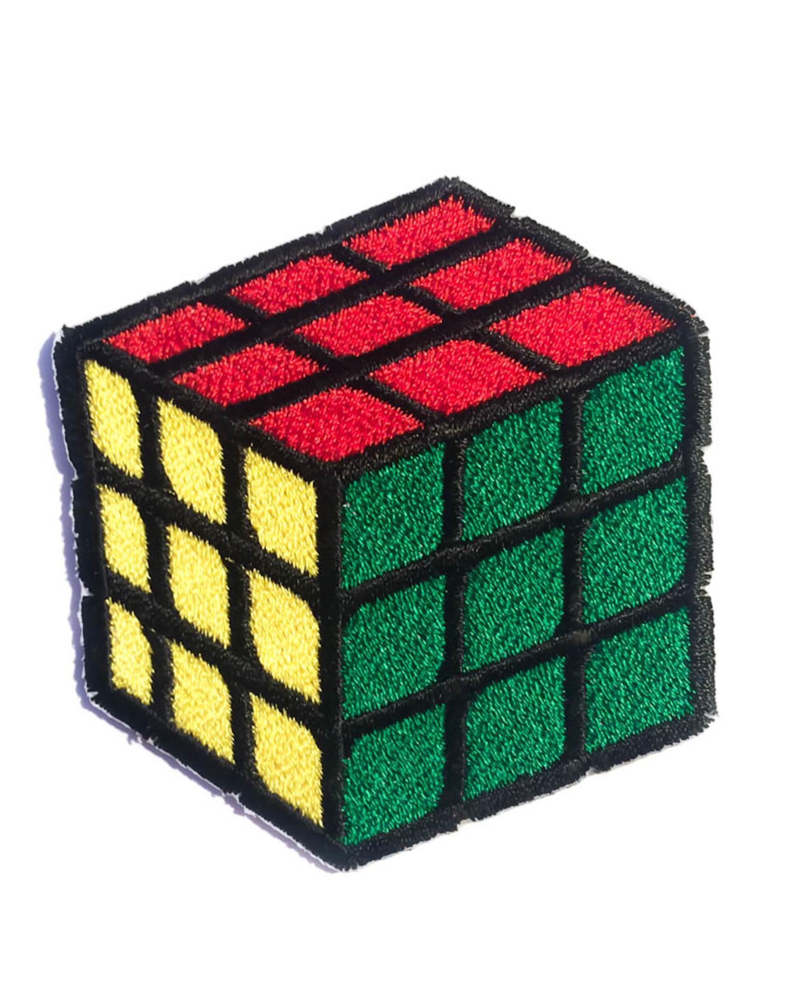 Tattoo It Écusson thermocollant - cube rubik