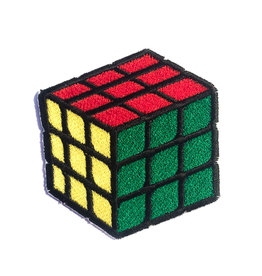 Tattoo It iron-on Patch - rubik's cube