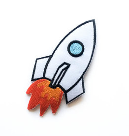 Tattoo It Patch iron-on  - space shuttle