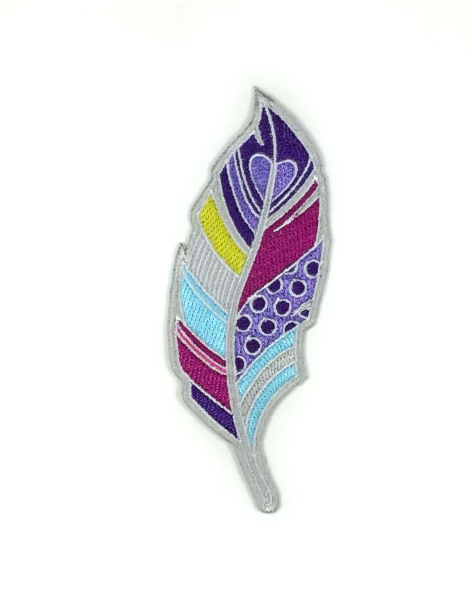 Tattoo It Iron-on Patch  -  Feather