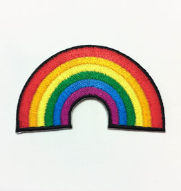 Tattoo It Iron-on Patch  - Rainbow