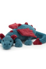 Jelly Cat Plush - Dexter Dragon Large