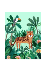 Petit Monkey Affiche - Tigre