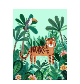 Petit Monkey Poster - Tiger