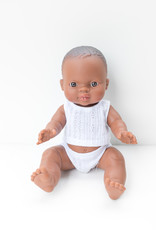 Paola Reina Gordis doll - Baby William in pyjama