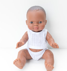 Paola Reina Poupée Bébé William en pyjama