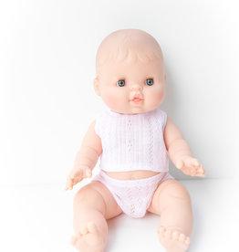 Paola Reina Poupée Bébé Rose en pyjama
