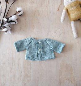 Monamigurumi Veste tricotée à la main - Turquoise