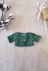 Paola Reina Veste tricotée à la main - Vert