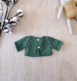 Monamigurumi Veste tricotée à la main - Vert