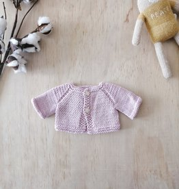 Paola Reina Hand Knitted Jacket - Pink