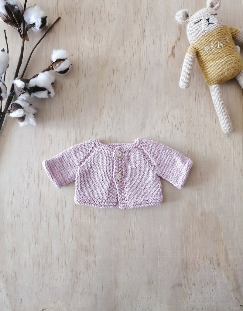 Monamigurumi Veste tricotée à la main - Rose