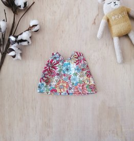 Paola Reina Doll Camisole Paola Reina - Pink and teal flowers