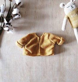 Paola Reina Paola Reina Doll Cardigan - Mustard