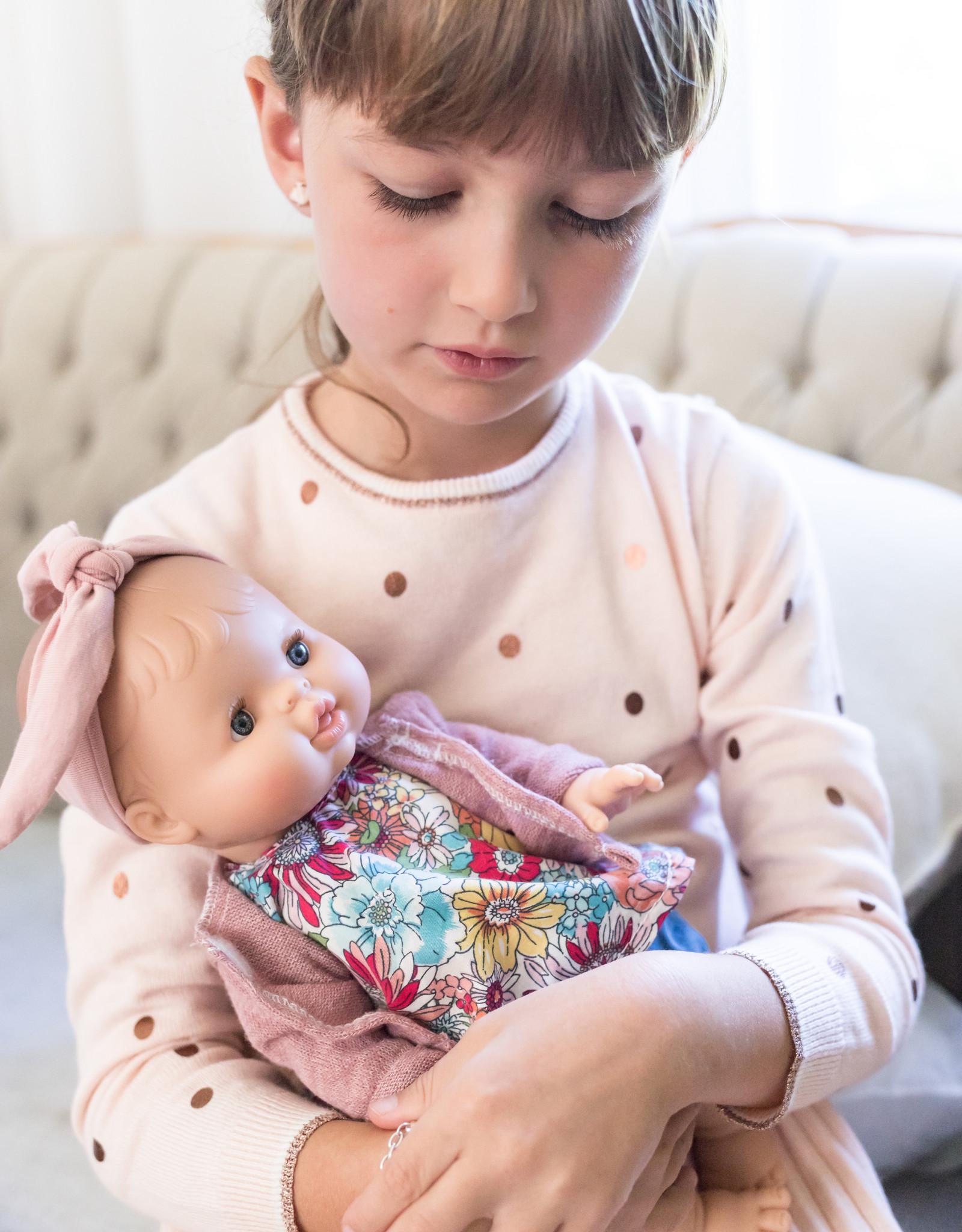 Paola Reina Cardigan pour poupée Paola Reina - Rose