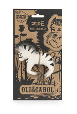 Oli & Carol Bracelet de dentition - Zoé le zèbre