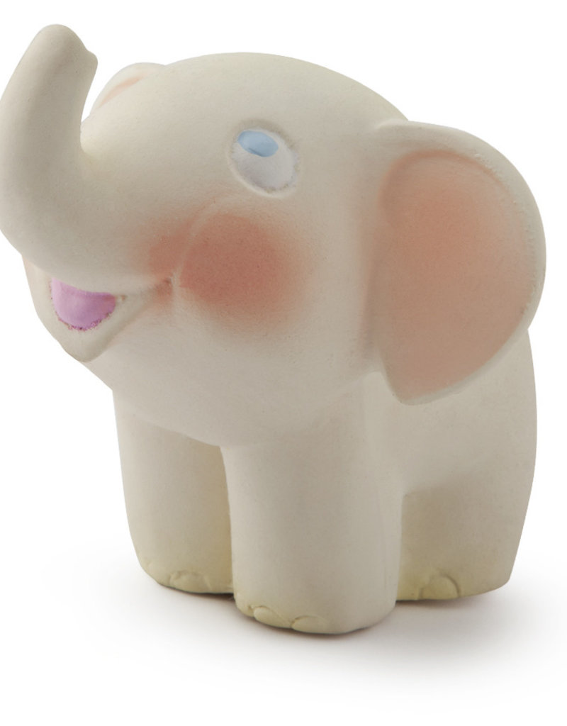 Oli & Carol Natural rubber teether - Nelly the elephant