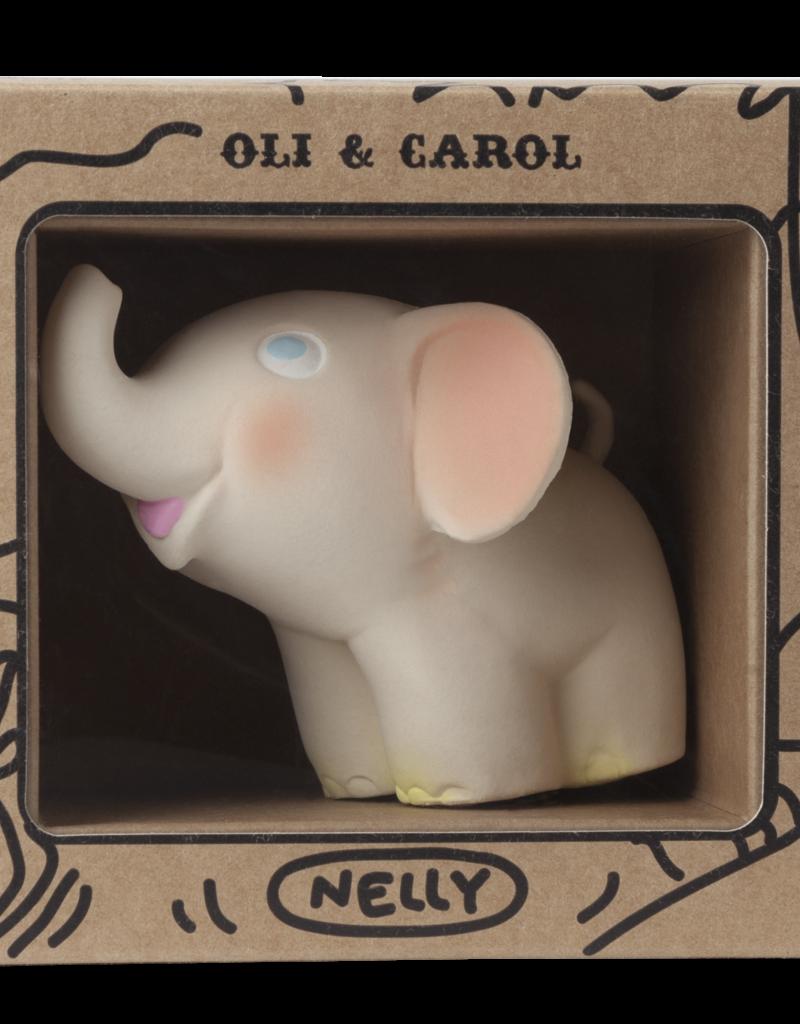 Oli & Carol Jouet de dentition - Nelly l'éléphant