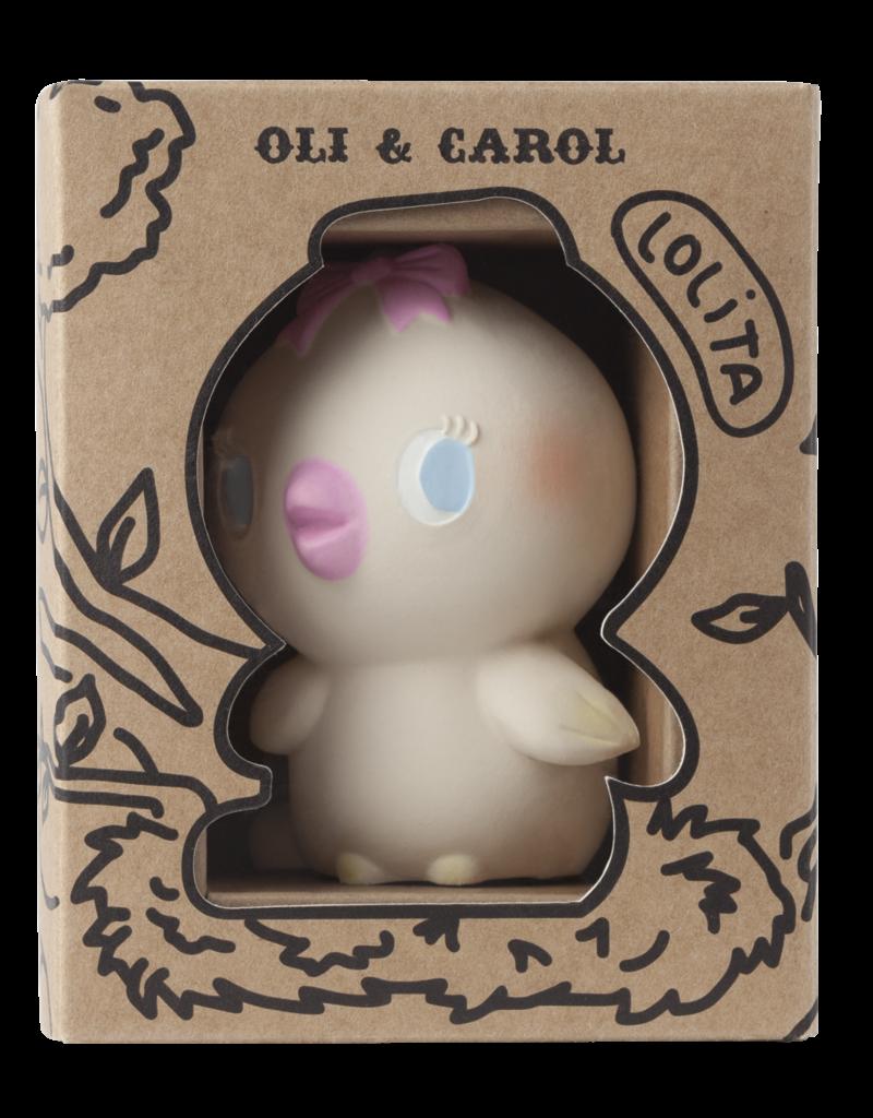 Oli & Carol Natural rubber teether - Lolita the birdy