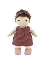 Olli Ella Mini valise de vêtements pour poupée - Rose